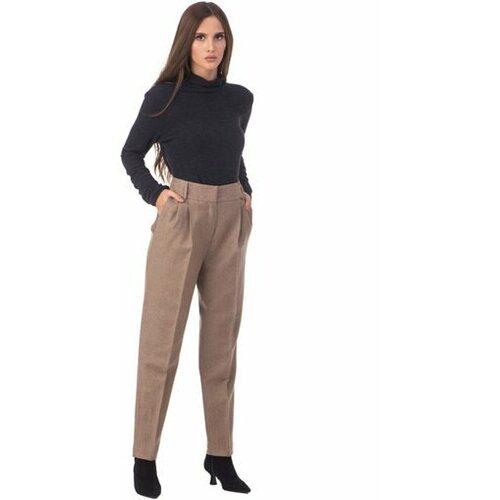AMC ženske pantalone 125P krem  Cene
