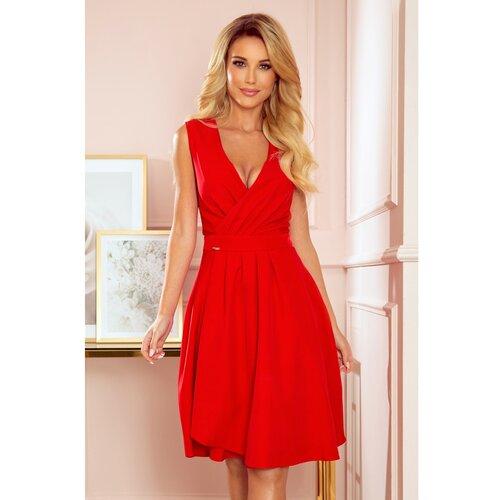 NUMOCO Ženska haljina 338 crvena  Cene