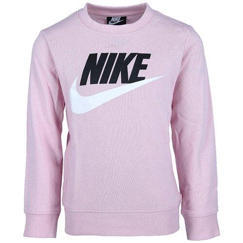 Nike duks za devojčice NKN CLUB HBR FT CREW 36H489-A9Y Slike