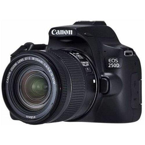 Canon EOS 250D - set sa 18-55+EF 24mm, crni digitalni fotoaparat Slike