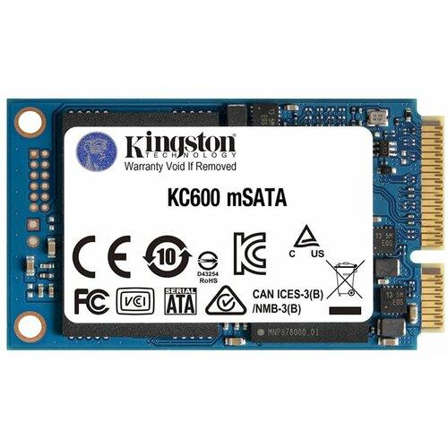 Kingston 256GB, mSATA III, 550MB/s / 500MB/s, SKC600MS/256G ssd hard disk Slike