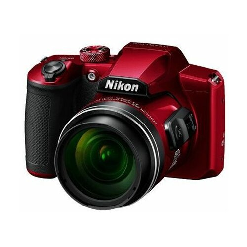 Nikon Coolpix B600 crveni digitalni fotoaparat Slike