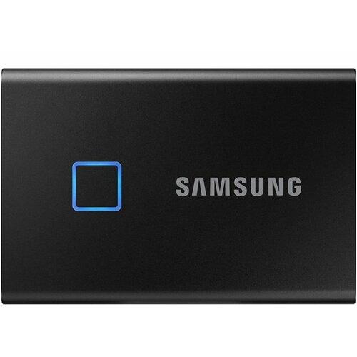 Samsung T7 Touch 2TB USB-C/A Gen2 | MU-PC2T0K eksterni ssd hard disk Slike