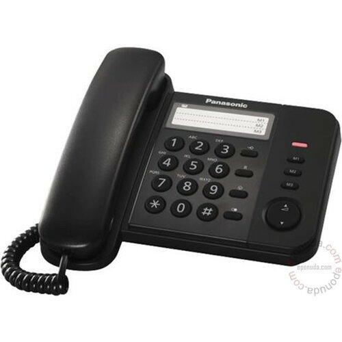 PANASONIC KX-TS520FXB fiksni telefon Slike