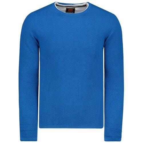 Ombre Muški džemper E121 plavi svijetlo plavo  Cene