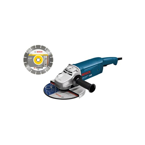 Bosch ugaona brusilica Professional GWS 20-230 H + Dijamantski disk 0601850L06 0601850L06 Slike