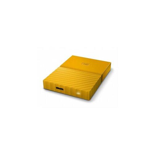Western Digital eksterni hard disk My Passport yellow 1TB Slike