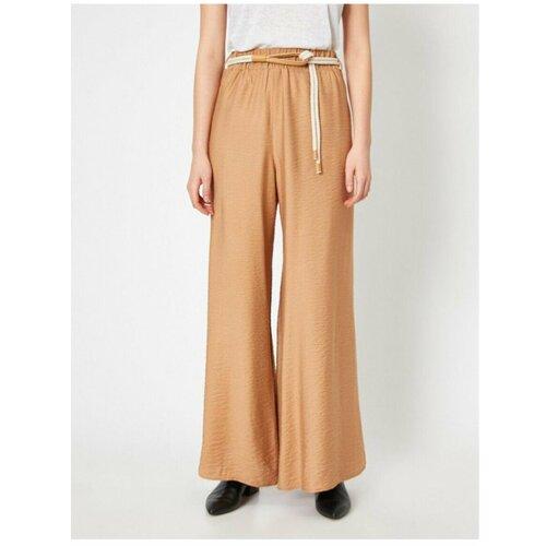 Koton Women's Beige Pants braon   narandžasta  Cene