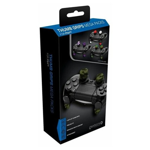 Gioteck PS4 Thumb Grips Mega Pack Slike