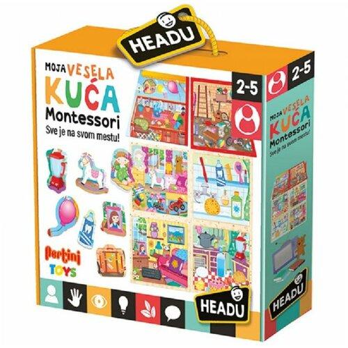 Headu Montesori igra moja vesela kuća SR26821 23127 Slike