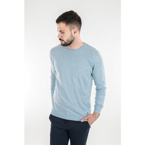 Barbosa muški džemper mdz 8065-00 28 - svetlo plava Slike
