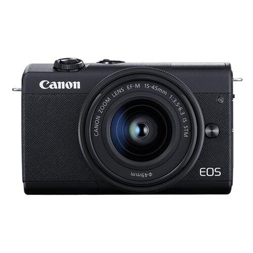Canon EOS M200 M15-45 S DSLM 24.1 Mpix Li-ion baterija digitalni fotoaparat Slike