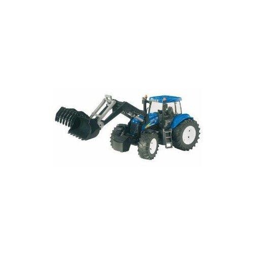 Bruder traktor sa utovarivačem (54336) Slike