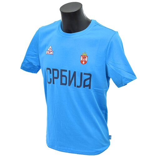 Peak muška majica košarkaška reprezentacija Srbije KSS1608-BLUE Slike