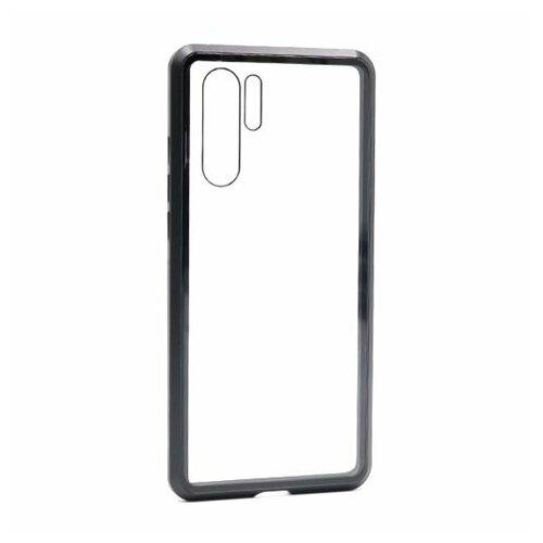 Galaxy Code futrola Full Cover magnetic frame za Huawei P30 Pro crna Slike