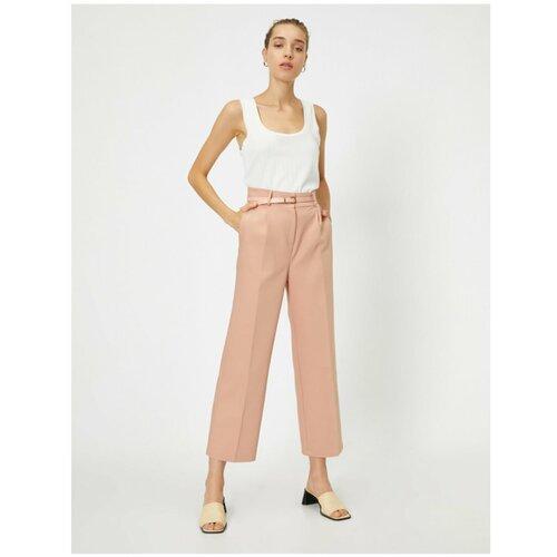 Koton Kotonske hlače s džepovima na pojasu  Cene