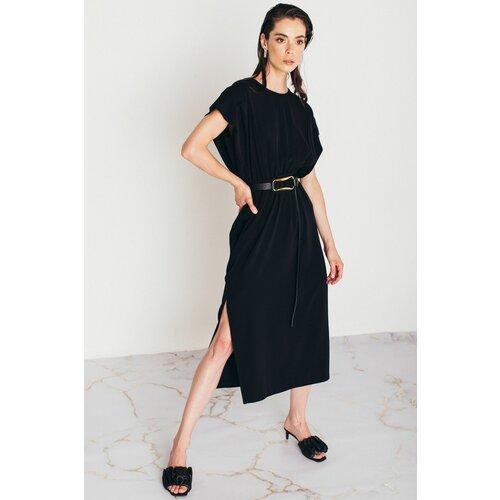 Mona midi crna haljina 54114901-1  Cene