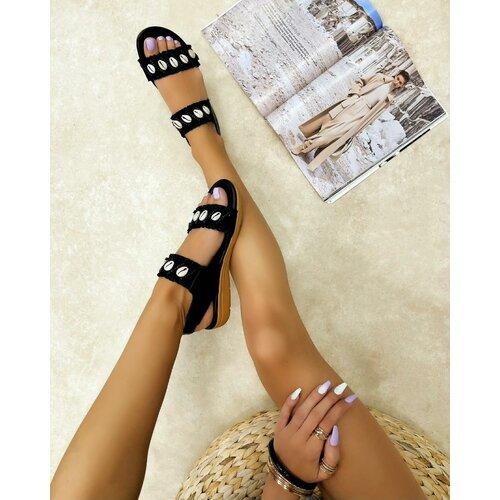 Hop Hop 16268 - ženske sandale lujain - crna  Cene
