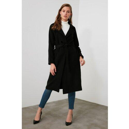 Trendyol Ženski kaput Jednobojno crni  Cene