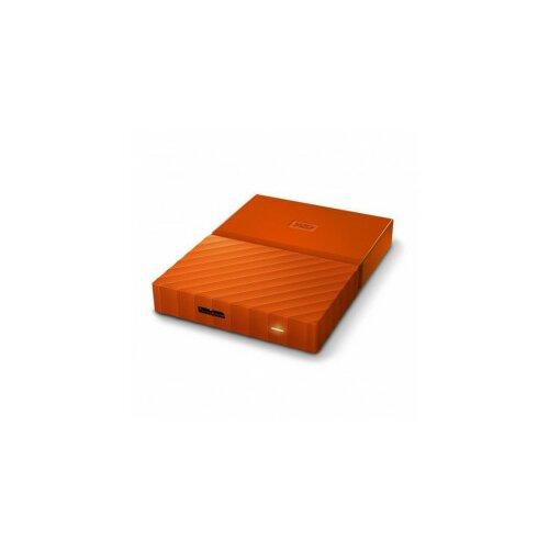 Western Digital eksterni hard disk My Passport orange 3TB Slike