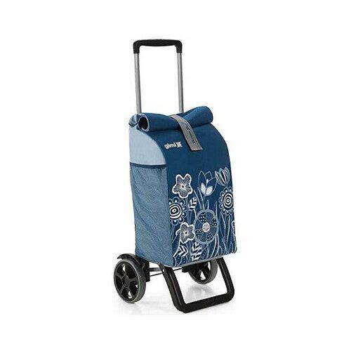 Gimi kolica za pijacu ROLLING plava  Cene