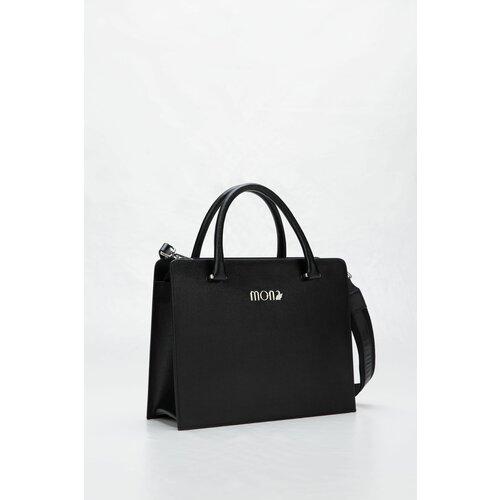 Mona crna kožna tašna 30002303-1 Slike