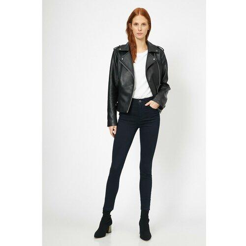 Koton Ženske plave pantalone crne bijela  Cene