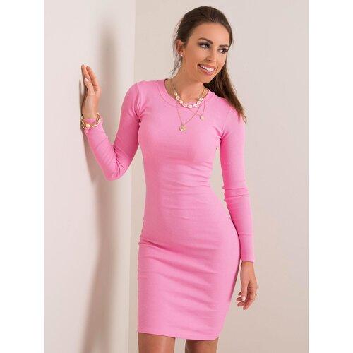 Fashionhunters Ženska haljina RUE PARIS ružičasta  Cene
