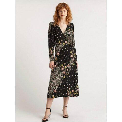 Lindex haljina sa dugim rukavima sa cvetnim printom 8101316  Cene