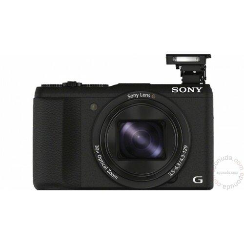 Sony Cyber-shot DSC-HX60 - Black DSC-HX60B digitalni fotoaparat Slike