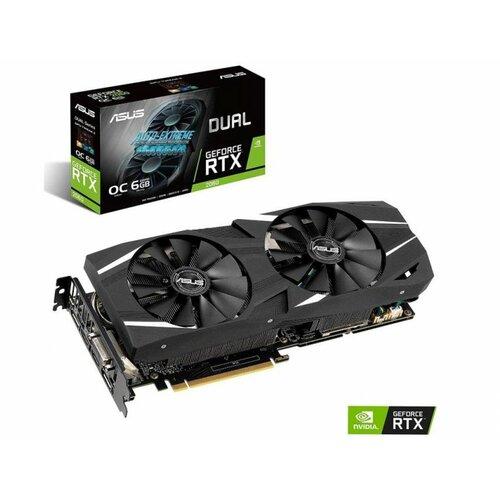 Asus Dual GeForce RTX 2060 OC edition EVO 6GB GDDR6 DUAL-RTX2060-O6G-EVO grafička kartica Slike