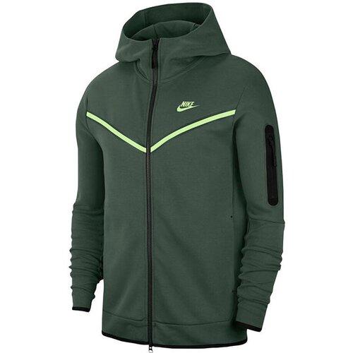Nike muški duks M NSW TCH FLC HOODIE FZ WR CU4489-337  Cene