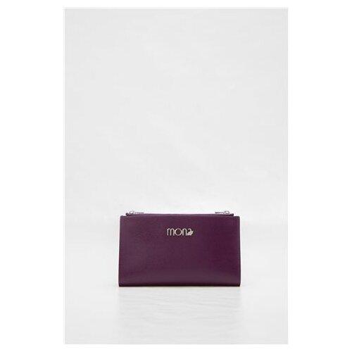 Mona ženski ljubičasti kožni novčanik 6516605-1 Slike