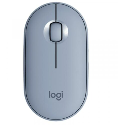 Logitech M350 Pebble plavi bežični miš Slike