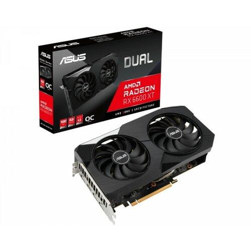 Asus AMD Radeon RX 6600 XT 8GB DUAL-RX6600XT-O8G grafička kartica Slike