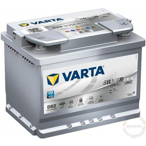 Varta Silver Dynamic AGM 12V60 AH D+ akumulator Slike
