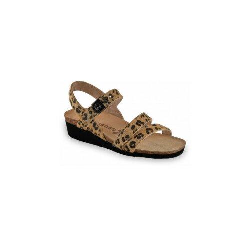 Grubin ženske sandale 1263690 LUCCA Leopard  Cene