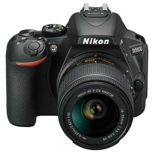 Nikon D5600 + 18-55mm VR AF-P digitalni fotoaparat Slike