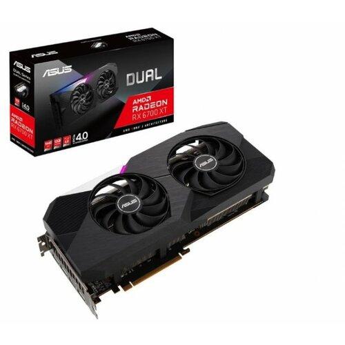 Asus AMD Radeon RX 6700 XT 12GB DUAL-RX6700XT-12G grafička kartica Slike